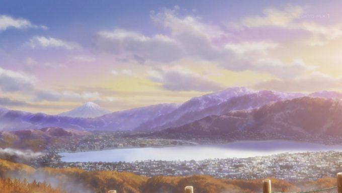 ゆるキャン△ 諏訪湖