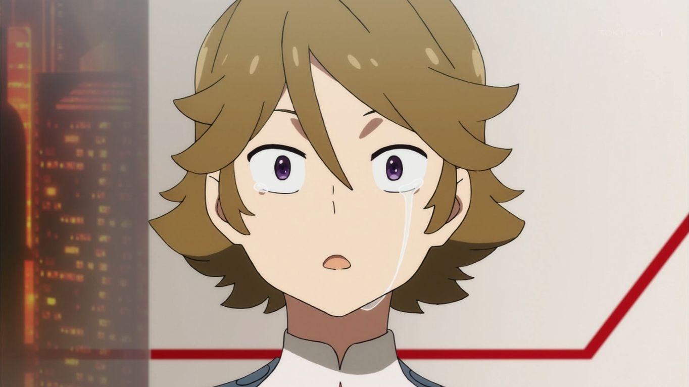 ダーリン・イン・ザ・フランキス 泣いているゾロメ