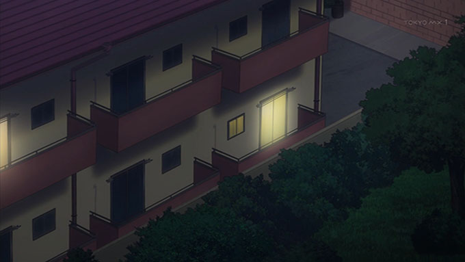 スロウスタート てまりハイツ 窓側 アップ
