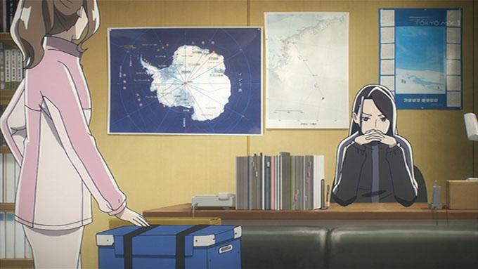 宇宙よりも遠い場所 藤堂 部屋 地図