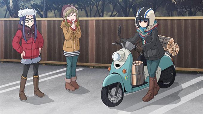 ゆるキャン△ リン 原付バイク YAMAHA ヤマハ ビーノ Vino