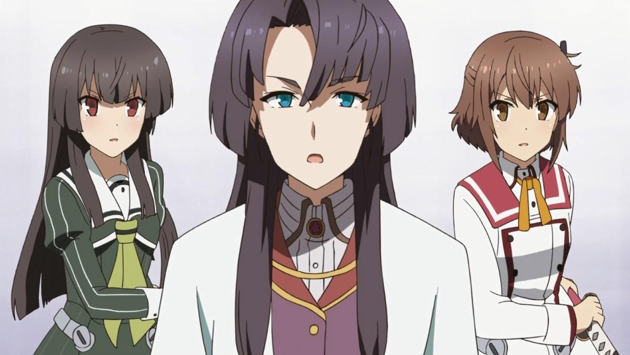 刀使ノ巫女 朱音 可奈美 姫和
