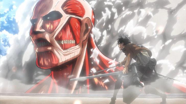 劇場版「進撃の巨人」前編~紅蓮の弓矢~ エレン 超大型巨人