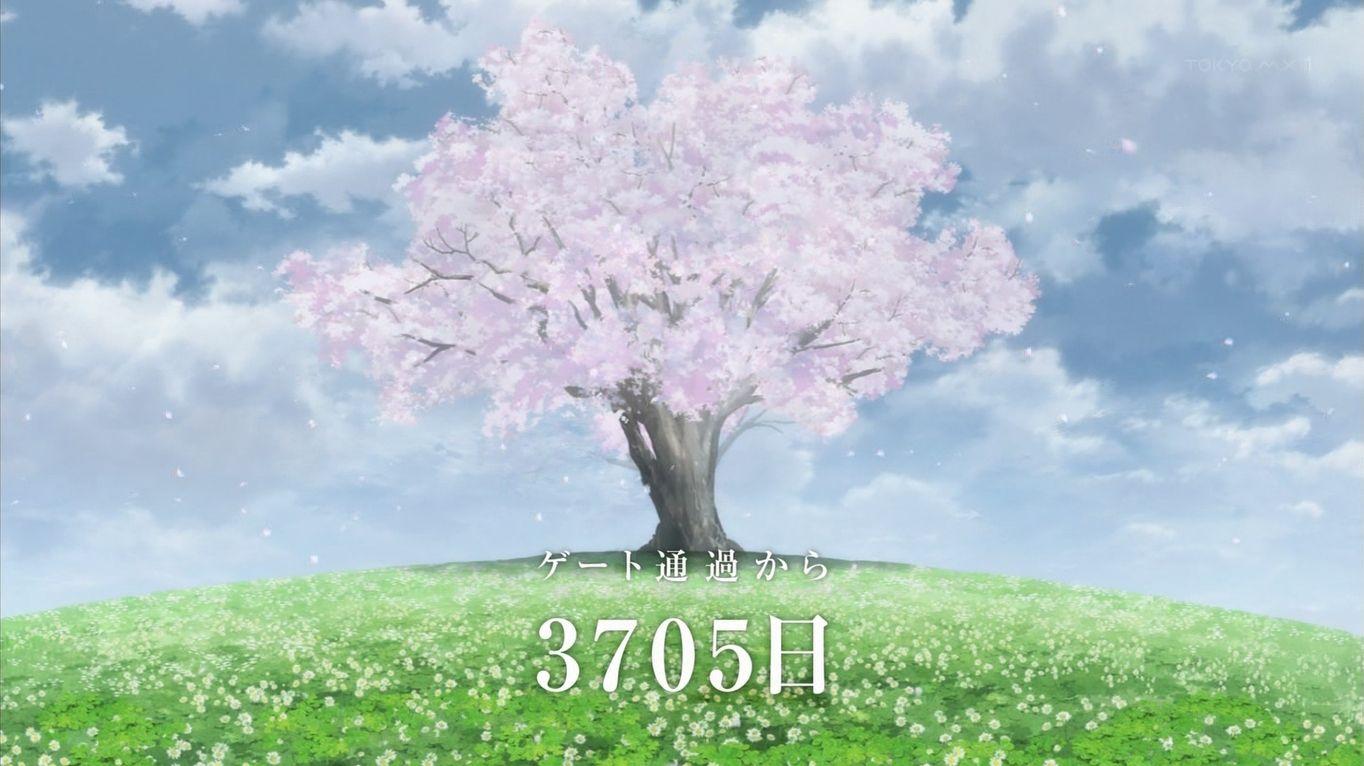 ダーリン・イン・ザ・フランキス 桜の木