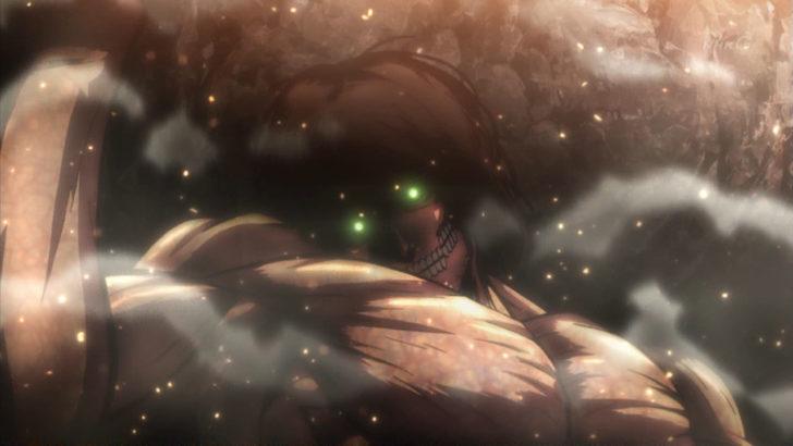 劇場版「進撃の巨人」前編~紅蓮の弓矢~ エレン巨人 大岩