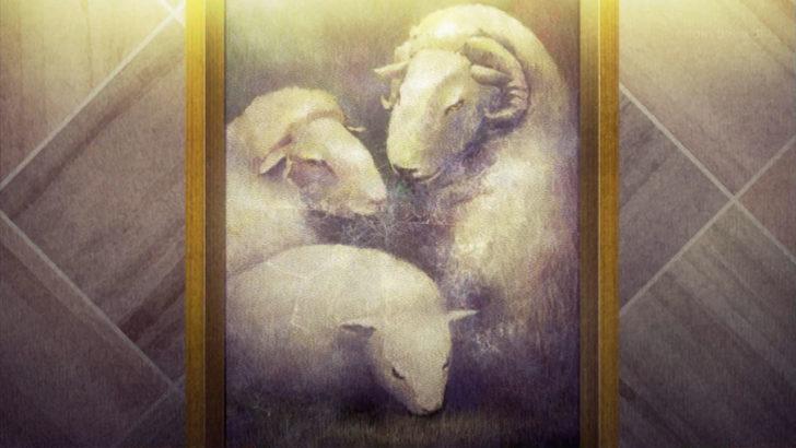 殺戮の天使 羊の家族 絵