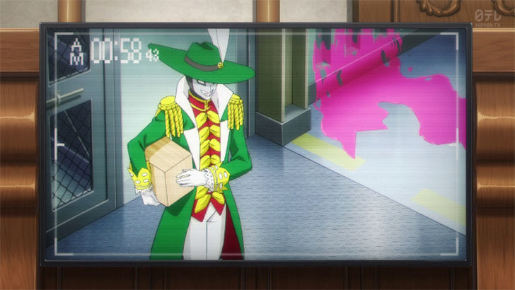 逆転裁判 ~その「真実」、異議あり!~ Season2 怪人☆仮面マスク 防犯カメラ 高菱屋百貨店