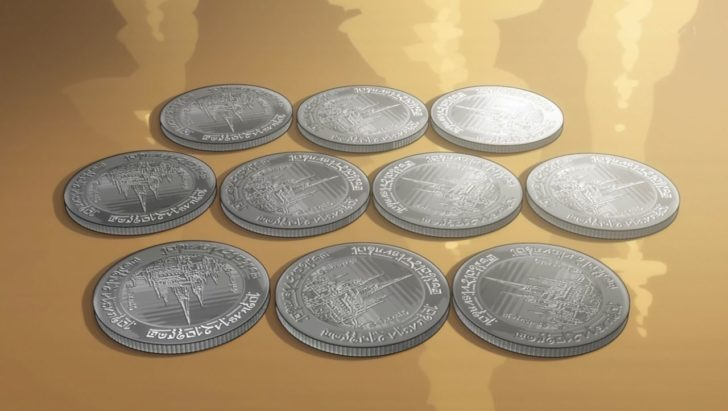 転生したらスライムだった件 転スラ 銀貨 硬貨 日当 イングラシア王国