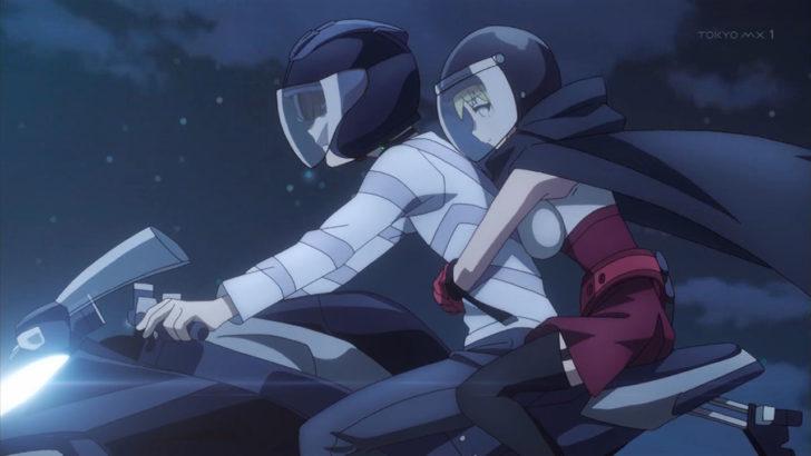とある科学の一方通行 アクセラレータ バイクの運転