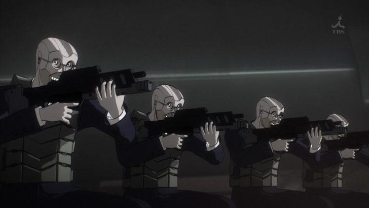ノー・ガンズ・ライフ ベリューレン兵の銃撃 H&K MP7