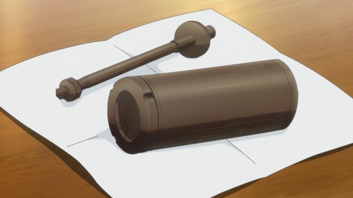 レヱル・ロマネスク シリンダー型チョコレート