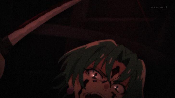 ひぐらしのなく頃に 業 園崎魅音に襲いかかる園崎茜 途絶えなきゃいけないのさ、この鬼の血はね