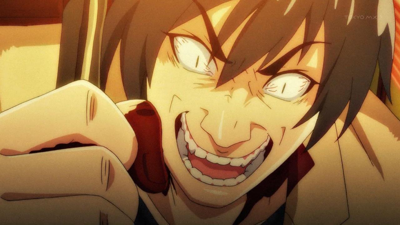 ひぐらしのなく頃に 業 古手梨花を包丁で刺して笑う赤坂衛 雛見沢症候群 L5