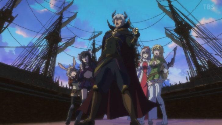 異世界魔王と召喚少女の奴隷魔術Ω 異世界魔王Ω 魔王プレイをするディアヴロ ファニスに虚勢を張る