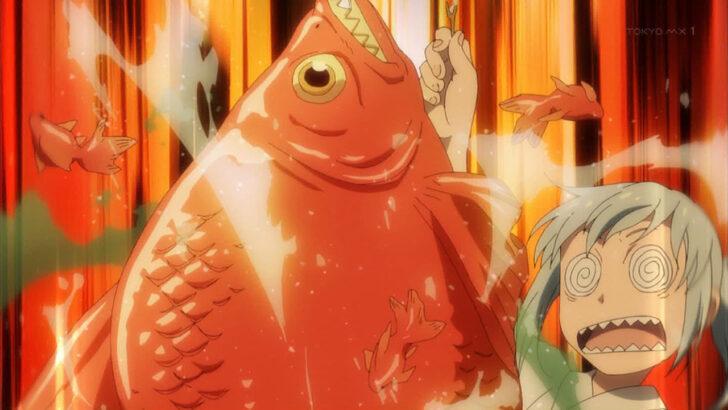 転スラ日記 巨大金魚がいるハクロウの金魚すくいの屋台