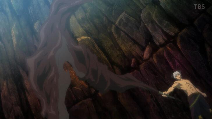 異世界魔王と召喚少女の奴隷魔術Ω 異世界魔王Ω 天魔の杖の代わりに持っている外見重視のザコ性能な杖 1期5話で購入した杖